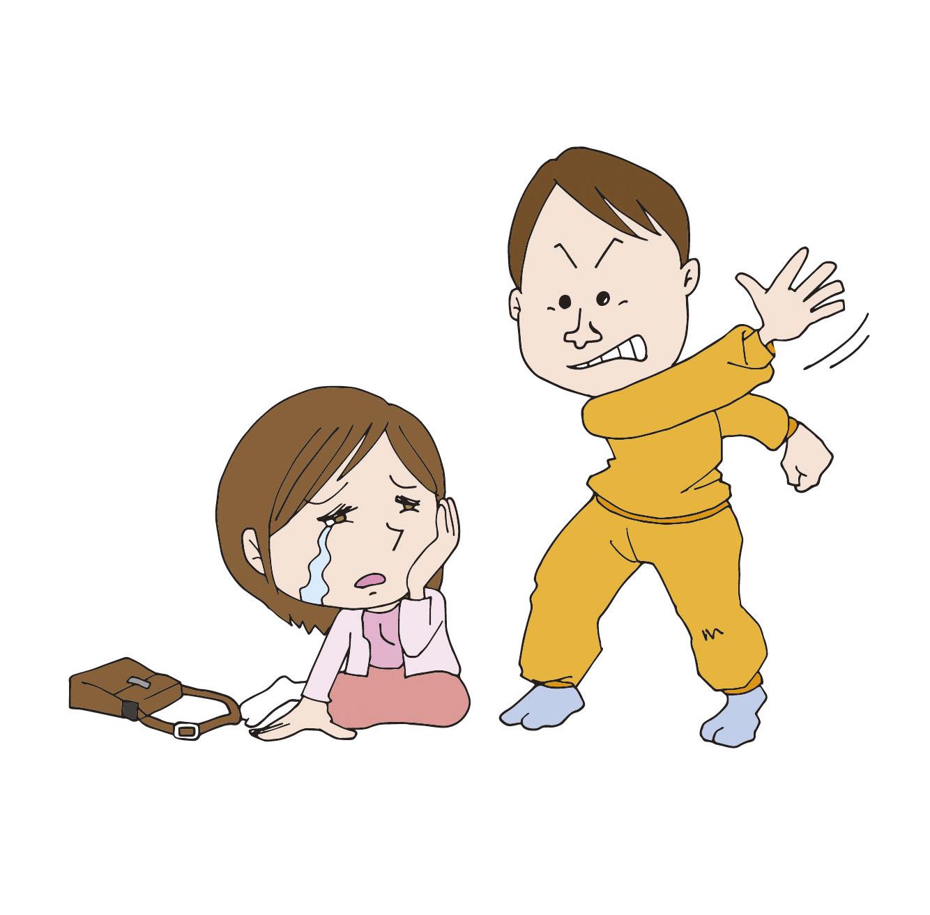発達障害に生活環境の悪化が加わり、暴力的な夫